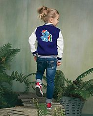 Girls Personalized My Little Pony Varsity Jacket