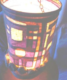 LampshadeThe floor lampThe hanging lamp by recyclingroom on Etsy, $49.99
