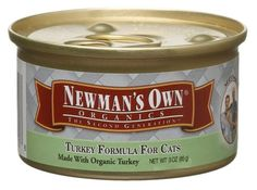 Newmans Own Organics Cat Canturkey Formula 3Ounce Units Pack of 24 * This is an Amazon Affiliate link. Click on the image for additional details.