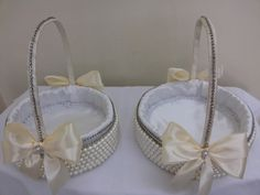 cesta decorada casamento