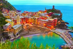 Cinque Terre Italy During the day