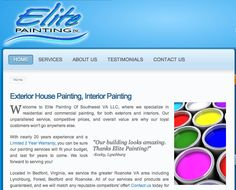 Painting contractor serving Roanoke and Lynchburg VA. Painter offering house Painting - http://elite-painting.com/
