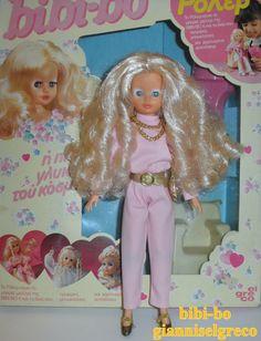 """Η bibi-bo """"Ρόλερ"""" 1986  The bibi-bo """"Roller""""  Le bibi-bo """"Roller""""  Die Bibi-bo """"Roller"""""""