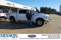 https://flic.kr/p/Dj2J3e | Congratulations Joseph on your #Ford #F-150 from Nick Franko at Hixson Ford of Leesville! | deliverymaxx.com/DealerReviews.aspx?DealerCode=VSBU