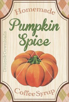 The new cue for Fall comes with the release of the Pumpkin Spice Latte, sold by one certain behemoth of a coffee company. Obviously, the
