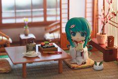 Nendoroid Snow Miku Strawberry in a Ryokan Anime Chibi, All Anime, Figure Photography, Toys Photography, Hatsune Miku, Pokemon, Anime Figurines, Anime Dolls, Anime Merchandise
