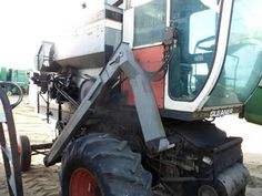 Gleaner K combine salvaged for used parts. This unit is available at All States Ag Parts in Downing, WI. Call 877-530-1010 parts. Unit ID#: EQ-23833. The photo depicts the equipment in the condition it arrived at our salvage yard. Parts shown may or may not still be available. http://www.TractorPartsASAP.com