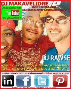 Follow me on my media links a growing upcoming dj