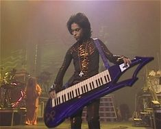 "Yep, Prince was an inventor. From The Guardian: ""Multi-award winning Prince has many talents. Inventing, however, is one of his lesser known ones. Back in 1992 Prince filed a patent for a custom-design keytar - a keyboard-guitar hybrid Prince Images, Photos Of Prince, Prince Concert, The Artist Prince, Weak In The Knees, Paisley Park, Roger Nelson, Prince Rogers Nelson, Purple Reign"