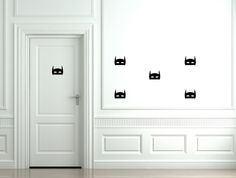 Removable Wall Stickers - Batman Masks