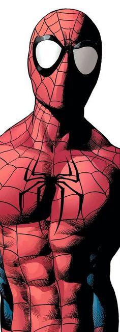 Spider-Man by Mike Deodato Jr Spiderman Art, Amazing Spiderman, Superhero Villains, Marvel Characters, Batman Comics, Anime Comics, Marvel Art, Marvel Heroes, Mike Deodato Jr