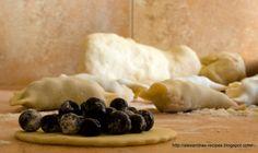 Przepisy Aleksandry: Pierogi z jagodami