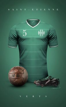 Vintage Voetbal Shirt  - Prachtige ouderwetse designs clubshirts - Manify.nl