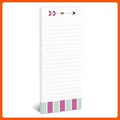 Arrow Magnetic Notepad - Refine your workspace (*Amazon Partner-Link)