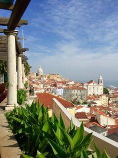 Miradouro de Santa Luzia, Lisbon | Portugal (by Nacho Coca)