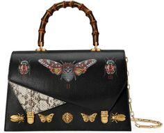 Ottilia leather top handle bag #Gucci