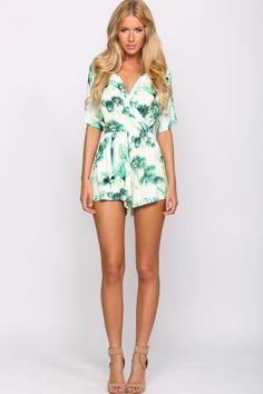Woodlands Playsuit