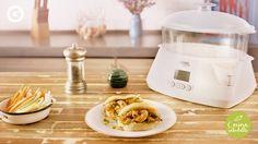 ¿Querés saber cómo hacer unos excelentes panes al vapor con langostinos? ¡Mirá cómo hace Feli Pizarro y disfrutalos!