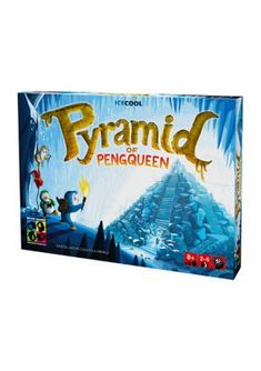 Brain Games Icecool Pyramid Of Pengqueen Family Game. Four brave penguins have entered the long-lost pyramid of Pengqueen and must now claim its fabulous treasures before the mummy drags them down into her tomb for all eternity. Pyramid of Pengqueen is a strategic game of cat and mouse for children, families, and casual gamers, in which your goal is to collect the treasure before the player playing as the mummy can catch you. This innovative game featuring a double-sided magnetic board that…