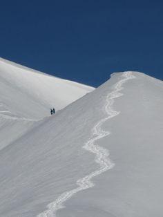 La Cucumelle haut lieu de freeride à Serre Chevalier dans les Hautes Alpes - des…