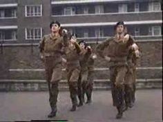 CAMP IT UP! Monty Python team. Close order swarming about.