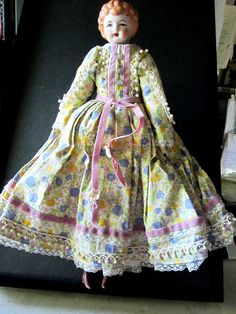 SOLD  Doll  Collectible Doll 14 1/2 Tall  Long by JewelsOfHighElegance, $25.00