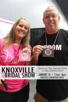 Be our preferred guest at the Knoxville Pink Bridal Show®! VIBs and VIGs get extra-special treatment at our shows. Upgrade now! ♡♡♡ #weddingplanning
