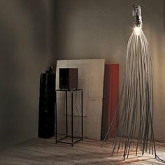 Terzani Hugo Floor Lamp - amazing, just too gorgeous. I. Want. It.