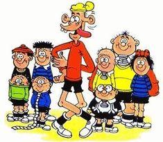 The Bash Street Kids, Beano. Classic Cartoon Characters, Classic Cartoons, My Childhood Memories, Best Memories, Kids Tv, Big Kids, Horror Comics, Cartoon Pics, Comic Books Art