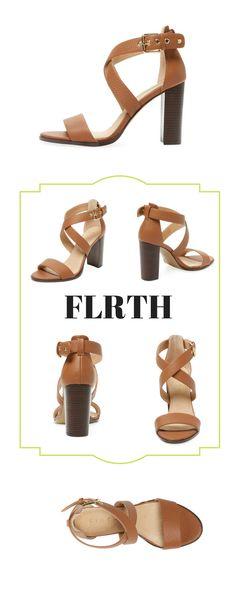 Firth Crossover High Heel Sandal