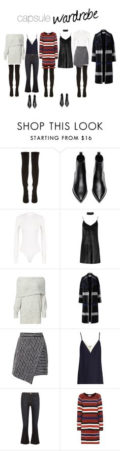 """NY2017 Capsule Wardrobe"" by evefg85 on Polyvore featuring Nicholas Kirkwood, Acne Studios, WearAll, Boohoo, Joie, Helene Berman, Marco de Vincenzo, Lanvin, Frame and Tory Burch"