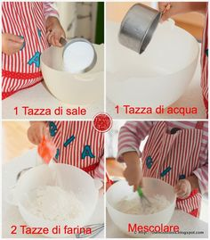 The Miss Tools: Biscotti 'Magnetici' in Pasta di Sale - Salt dough 'magnetic' cookies