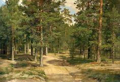 Ivan Ivanovich Shishkin - Pine Forest in Sestroretsk