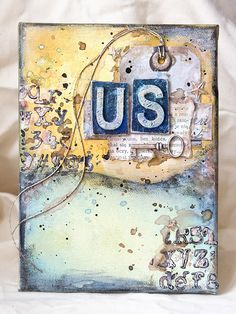 Mixed Media Place: Us by Anai