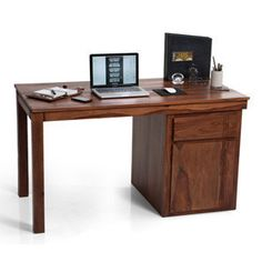 Bradbury Desk (Teak Finish)