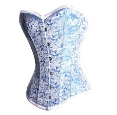 Blue and Silver Corset wedding dresses 2012 - Cool design!