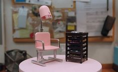 From tiny ironing boards and scooters to miniature hairdressing chairs and tiny hospital beds, UK-based artists Kath Holden and Margaret Shaw make little worlds, captured by director Ellen Evans in a short documentary entitled Life in Miniature. Hairdressing Chairs, Everyday Objects, Documentary, Miniatures, Watch, Videos, Life, Home Decor, Clock