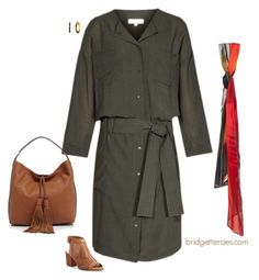 """""""Shirtdresses"""" by bridgetteraes ❤ liked on Polyvore featuring Lauren Ralph Lauren, Vince Camuto and Rebecca Minkoff"""