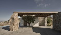 Villa Mandra by K-Studio — MODEDAMOUR Living Divani, Studio Build, Wooden Pergola, Good House, House Built, Growing Tree, Dezeen, Building A House, Facade