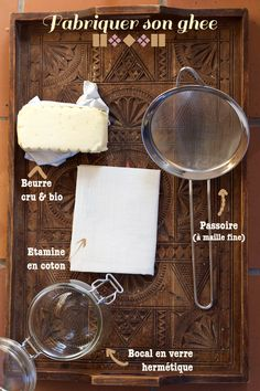 Fabriquer son ghee maison Ayurveda, Vegetarian Recipes, Nutrition, Or, Homemade, Healthy, Dairy, Foods, Education