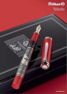 Pelikan Toledo M710 Red Fountain Pen