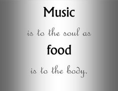 My Inspiration from Music