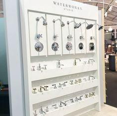 New Waterworks display in our Westlake showroom