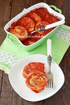Rotolo di crespelle ripieno di ricotta e spinaci - La Cuoca Dentro