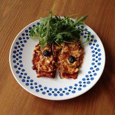 Tallore: Courgettepizza, letterlijk