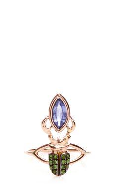 Kephris Purple Sapphire Ring by Daniela Villegas for Preorder on Moda Operandi