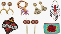 8 Indigenous Beaders Who Are Modernizing Their Craft: Elias Jade Not Afraid, Tania Larsson, and More - Vogue Native American Beadwork, Instagram Artist, Art Market, Indian Art, American Indians, Beaded Earrings, Seed Beads, Nativity, Glass Beads