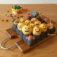 お菓子なハロウィーンタウンの3Dちぎりパン