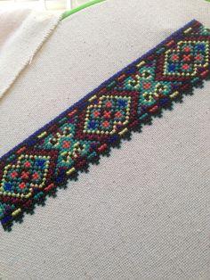 Зразок вишивки з сорочки с. Вербовець