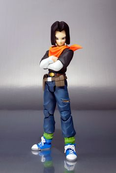 Figurine Dragon Ball Z Android C17 S.H. Figuarts
